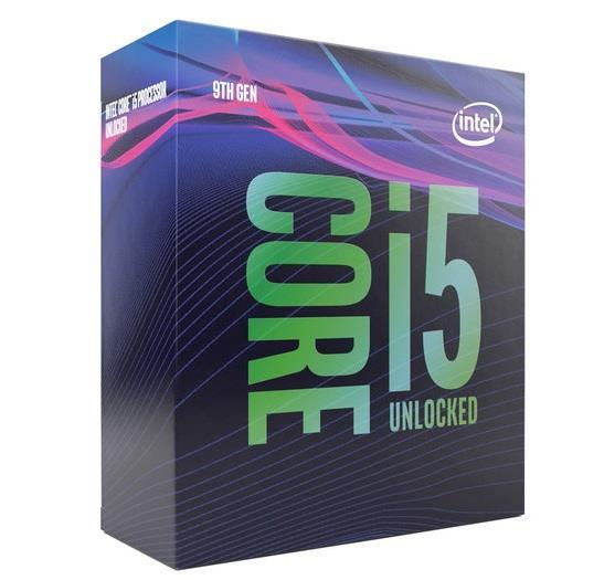 Процессор INTEL Core i5-9600KF <Socket 1151v.2, 3.7-4.6GHz, Coffee Lake, 6 ядер/ 6 потоков, L3: 9Мба
